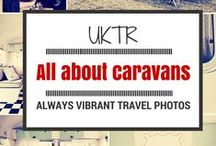 All about caravans / Retro, classic, vintage: an all-style caravan collage of moments not just pictures