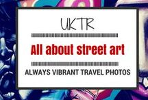All about street art / A different perspective on life brought by art publicized in the streets such as graffiti, stencils, wheat pasting, stickers, rollers, video projection, street installations, screen printing, yarn bombing, sculptures, lock-ons and so on. Simply put: Street Art