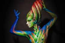 *** Body art *** / Art comes in many shapes and forms