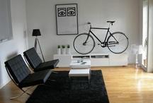 La Bicicleta en Casa / Cuando tenemos que guardar la bicicleta en casa.