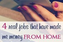 Make Money from Home! / You really can make money from home!  Take a look at these legit work-from-home opportunities.   Work from Home   Blogging   Make Money from Home