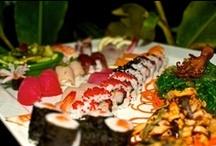 Sushi Sundays / Tropics Cafe serves sushi on Sundays from 12 am - 7pm.