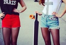 denim shorts / i just love them, spend my summer in them, collect them!