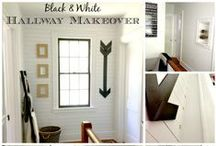 Hallways and Entry Spaces / This board features beautiful entryways, foyers and hallways, including many DIY ideas for you to renovate your own spaces! / by Tasha @ Designer Trapped in a Lawyer's Body
