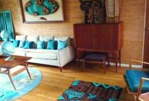 Tiki Modern Decor / MCM with a touch of exotica