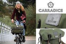 Carradice para Brompton / Bolsas delanteras de Carradice para las bicicletas plegables de Brompton. www.avantum.bike/carradice