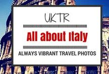 Travel to Italy / travelling through Italy  - pictures from all over Italy #travel