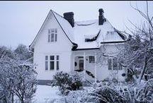 Villa/cottage, indoor and outdoor / Hauskoja ajatuksia sisustamiseen/rakentamiseen sisällä ja ulkona.