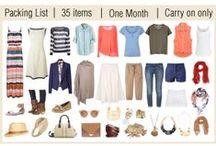 Travel Wardrobe (and misc tips)