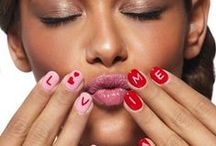 Valentines Nails  / Nail art for Valentines Day. Love nails, red nails, hearts and more perfect for Vday! #Nails #Valentines Romantic Nails <3 Check out my other nail boards at the bottom of my page!