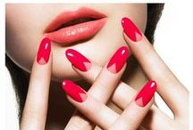 V Gap Nails / Loving this 2014 nail art trend. V gap manicures are all the rage at the moment. #VGap  Check out my other nail boards at the bottom of my page! :)