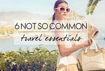 Travel Essentials / Make traveling easier with these travel essential pins. So many great ideas that will make your vacation perfect.