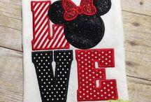 Appliqué/Embroidery Ideas / by Irma Gonzalez