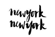 New York, New York / A board dedicated to the love I feel for this amazing city! #newyork