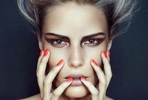 Orange Peach and Coral Nails / Orange, Peach and Coral Nail Art and nail polish colors you will love.