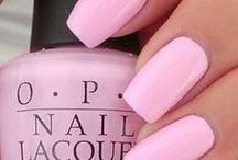 Pink Nails / Pink Nail Polish, pink nail art and other inspiration for pink hues on your fingernails. :)