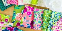 Zola / Colorful & fun prints on premium cotton. Designed by Junebee for Ink & Arrow Fabrics