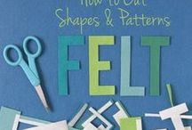 | f e l t A r t | /  Felt & Softies Ideas