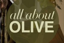 | a l l O l i v e | / olive green illustration, poster, art print, surface pattern, graphic, background, wallpaper