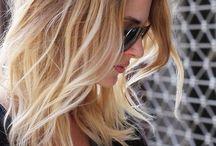 hair apparent / styles, color, length