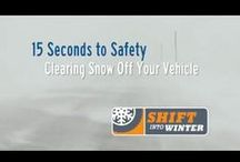Shift Into Winter / To combat the higher risks of driving through snow, ice, and sub-zero temperatures, we encourage travellers to #ShiftintoWinter. It's a shift in the way we prepare our vehicles and behave on the roads. It's also a shift in the way the ministry manages highway maintenance, from snow plowing to avalanche control.