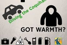 Car Emergency Supplies / Don't get soft when it comes to Old Man Winter – he is sneaky, often bad tempered and can show up when you least expect him. Before you even leave the house, make sure you have a winter emergency kit in the back of your car.  tranbc.ca/shift-into-winter/