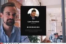 Design: Website / Inspiration for designing my website.