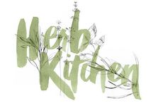 | k i t c h e n G a r d e n | / potager, herb garden (mint, rosemary, thyme, parsley, chive, basil, sage, dill, coriander, oregano), gardening, plant marker, seeds ... inspiration board :  Art, DIY, felt, paper, papercut, poster, print, pattern, illustration, sketch, graphic, painting, drawing, watercolor, collage, graphism, design, 2D, 3D, quote ...