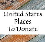 U.S. Places to Donate / Donating items will clear your clutter and help someone in need.  Find the United States charitable locations on this board donate your stuff.  #donation #locations #contribution #donation #giving #donate #US #places  #home #goods #stuff