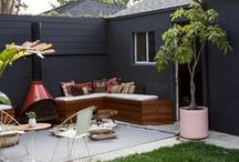 Top Patio & Garden Ideas /  a little garden and outdoor living inspiration for your space. / by Jessica Menk