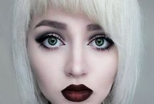 Cosmetics / Makeup, cosmetics, eye shadow, contour, contouring, face, blush  / by Samantha Alfred