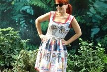 handmade dresses by ♥anniescupboards♥ / I like to sew dresses. I really like to sew Disney dresses the most.