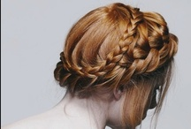 Hair. / Fabulous hairdos/styles I'd like to try.