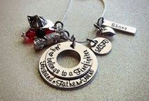 Metal stamping ideas / by Ashley Weigandt-Turner