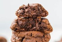 """Cookies / """"Sometimes me thinks 'what is a friend?' And then me say, 'friend is someone to share the last cookie with.' Cookie Monster / by Brooke H"""