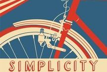 Bicycle Race / Retro romantic cycle love <3
