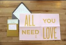 The Wedding Planner: Invitations & Paper / by Billie Denise McGhee