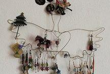 Craft: jewelry display / by Cheryl Martin