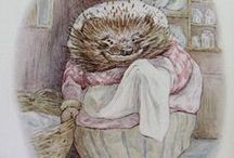 Peter Rabbit and Friends / Peter Rabbit, Vera the mouse,  Brambly Hedge Mice / by Mary Beth Elliott