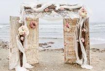 svatební brána / wedding arch, altar and backdrop ideas... nápady na svatební pozadí oltář oddací místo