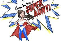 Awesome Aunts / Cool stuff for Aunts or Aunt-to-be