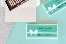 Baby & Co. Baby Shower Theme Ideas / A Tiffany-inspired baby shower theme that will bring elegance to your shower.