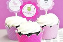 It's a Girl! Baby Shower / Favors, decorations, food and invitation ideas for a girl baby shower!
