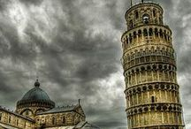 Pisa in Tuscany / All about Pisa: squares, churches, villas, palaces, bridges, food, artcraft, music, museums, people!