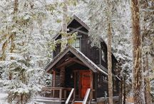 {cabin} / rustic and comfy