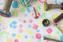 Painting with kids / schilderen met kinderen- verven met kids- painting with kids- diy painting kids- verf ideeën met kinderen- zelf doen met je kind