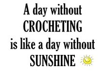 Crochet...LOVE to crochet!!! / Thank you Auntie Mary for passing on your love of crocheting! / by Suzy