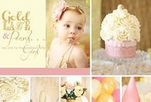 First Birthday Party Ideas / First birthday party ideas and inspiration  1st birthday   Birthday, decorations, invitations, party favors, cakes, cupcakes, dessert bar, candy, games, printables / by Frosted Events