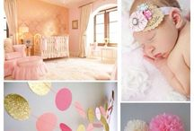 Nursery Ideas / Nursery ideas and inspiration  Nursery pictures  Nursery themes, baby  / by Frosted Events