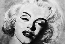 Marilyn / Marilyn Monroe. Norma Jean. MM. Blonde Bombshell. / by Janey Radford